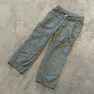 Hanna Anderson boys size 110 (5t) cargo pants